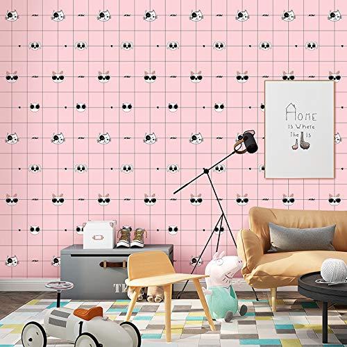 lsaiyy Nordic Gitter grünpflanze Selbstklebende tapete Student schlafsaal Schlafzimmer renovierung dekorative wasserdichte Aufkleber möbel renovierung wallpaper-60CMX5M