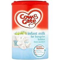 Cow & GateLeche Infantil Para Los Bebés Hambrientos De 900G Recién Nacido (Paquete de 2)