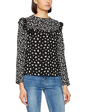 New Look Sister Print Frill, Blusa para Mujer