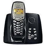 Siemens Gigaset A155 schnurloses DECT Telefon mit Anrufbeantworter dunkelblau