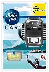 Idea Regalo - Ambi Pur Car Acqua Freschezza Naturale Deodorante per Auto, Starter Kit, 7ml