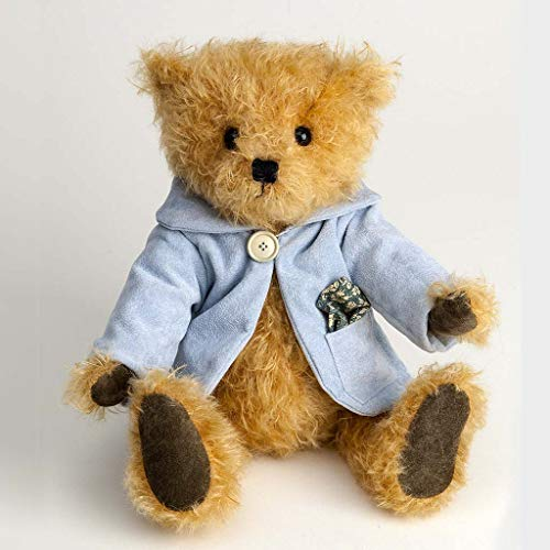 Canterbury Bears ltd 166 Christopher Mohair Bear - Oso de Peluche, Color Crema