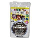 Snazaroo - Pittura non tossica per viso - 18ml (Taglia unica) (Arancione scuro)