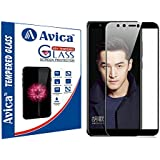 AVICA® Full Edge To Edge Cover BLACK Tempered Glass Screen Protector For Huawei Honor 9 Lite