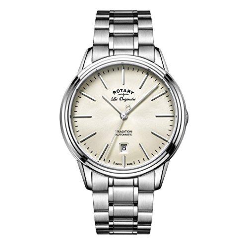 Rotary Herren - Armbanduhr Tradition Analog Quarz GB90161/32