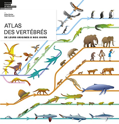 Atlas des vertébrés De leurs origines à nos jours