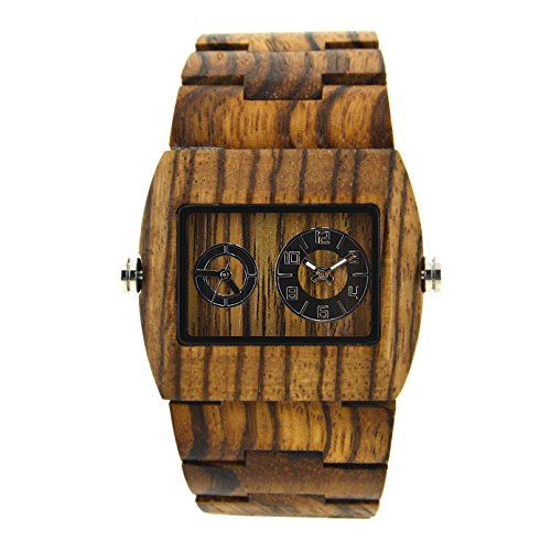 bewell-wooden-men-watch-sub-dial-rectangle-dial-wrist-watches-double-movement-021c-zebra-wood