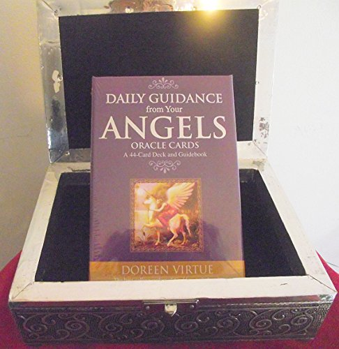 daily-guidance-from-your-angels-oracle-cards-by-doreen-virtue-with-a-soft-metal-box-embossed-with-ce