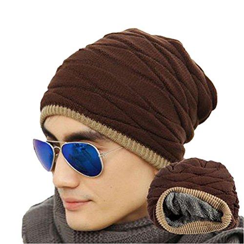 rosenice-cappelli-invernali-uomo-foderato-weichen-maglia-spessa-skull-cap-berretti-slouchy-hatcoffee