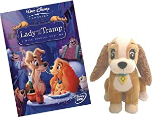 Lady and The Tramp Special Edition with Lady soft toy (Ltd Edition while stocks last) [DVD]