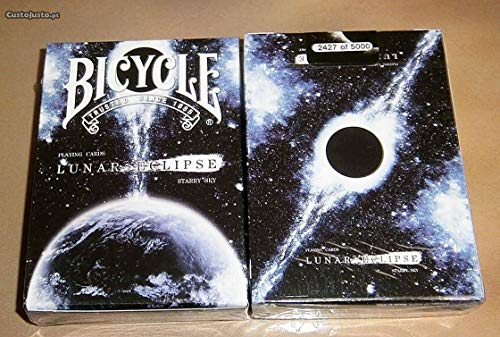 Bicycle Kartenspiel Spielkarten Playing Cards Lunar Eclipse Rare Limited Numbered Custom Cardistry Deck (Karten Spielen Night Sky)