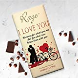 Rage I Love U Dark Almond Chocolate - 90 Grams