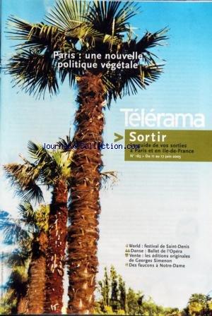 TELERAMA SORTIR [No 163] du 11/06/2003 -...