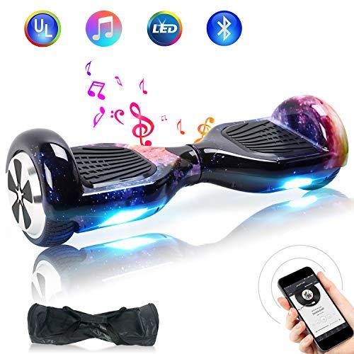 "Windgoo Hoverboard, 6.5\"" Elektro Scooter mit 2 * 250W Motor, LED Lights, Self-Balance E-Skateboard (Hoverkart)"