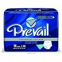 Prevail Underwear for Men, Undrwr For Men Lg-Xl 38-64I, (1 PACK, 16 EACH) by First Quality preisvergleich bei billige-tabletten.eu