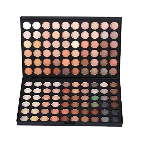 Anself Palette de Maquillage-- Ultra Shimmer chaud & Cool 120 couleurs de fard à paupières ombre à paupière