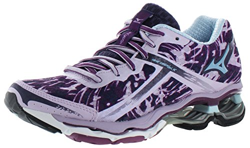Mizuno Wave Creation 15 Synthétique Chaussure de Course Purple-Light Blue-Purple