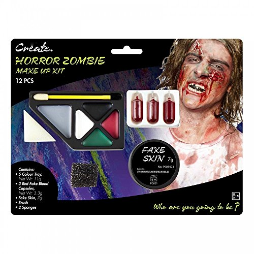 shoperama Diverse Halloween Schminksets Vampirin Zombie Blut Schminke -