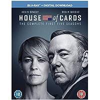 House of Cards - Season 01 / House of Cards - Season 02 / House of Cards - Season 03 / House of Cards - Season 04 / House of Cards - Season 05 - Set