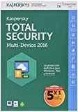 Kaspersky Total Security - Software Antivirus, 5 Licencias
