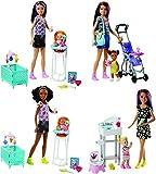 Mattel Barbie Baby Sitter, MALFHY97, Multicolore