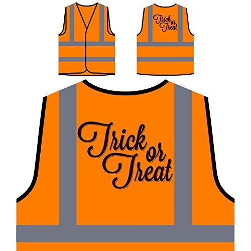 er Saures Personalisierte High Visibility Orange Sicherheitsjacke Weste q988vo ()