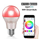 Magic Hue Smart LED Lampe WIFI Beleuchtung dimmbar mit Amazon echo Alexa Energiesparlampen...
