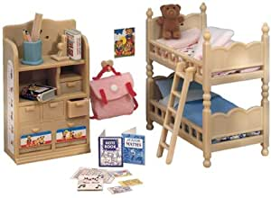 Sylvanian Families Childrens Bedroom Furniture Set Amazon