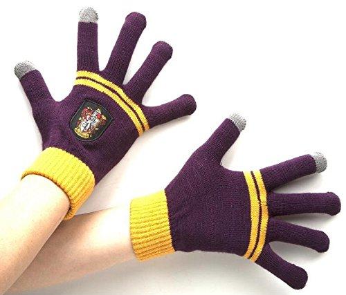 Harry Potter–Gryffindor casa conductor de guantes con dedos pant