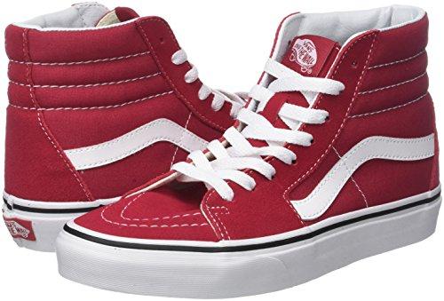 Vans SuedecanvasSneaker Collo Unisex Sk8 Adulto Hi A Classic Alto nwPO0k