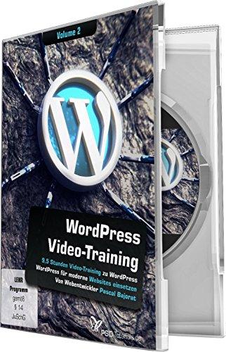 WordPress- Video-Training Vol.2 (Win+Mac+Tablet)