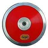 Amber Athletic Gear, Disco da atletica leggera, Rosso (Red), 1,75 kg