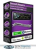 Renault Megane radio DAB, Pioneer estéreo reproductor de CD USB, Bluetooth Manos libres Kit