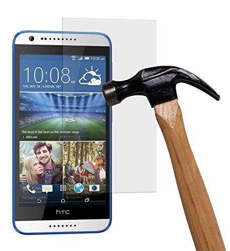 yayago Bildschirmschutzglas 0,26 mm Bildschirmschutzfolie für HTC Desire 620/Desire 620G Glasfolie Hartglas 9H (bewusst Kleiner als Das Bildschirm, da Dieses gewölbt ist)