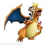 Megahouse Gem Series Pokemon Ash Ketchum Pikachu Charizard 19cm PVC ABS Figure