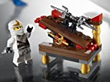 LEGO Ninjago Mini Figure Set #30086 Hidden Sword with Zane ZX by LEGO TOY (English Manual)