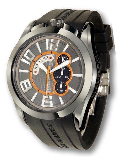 Haurex Italy - 3J333UGO - Montre Homme - Quartz - Chronographe - Bracelet Caoutchouc noir