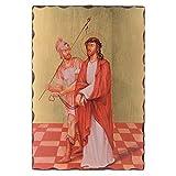 Holyart Via Crucis Cuadros serigrafiados 30x20 cm de Madera