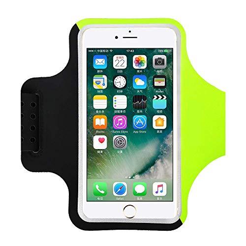 """Bracciale sportivo resistente all'acqua con chiave,soldi,supporto per carta di credito per iPhone XS XR X 8Plus 7 plus 6s plus Samsung S8 S7 Edge Huawei adatto a qualsiasi smartphone inferiore a 6.2"""""""