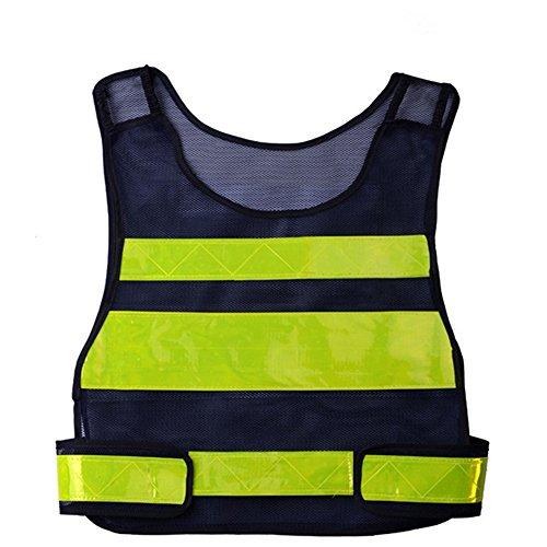 Carhartt Shirt Kleinkinder (owikar Safety Gear Warnweste Gürtel Dunkelblau verstellbar Hohe Sichtbarkeit gelb Reflektierende Streifen fluoreszierend für Night Running Radfahren Hund Park Street Walking umherirren)