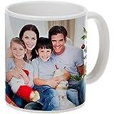 GDD Stylish Customised Personalised Printed Photo Ceramic Coffee Mug (White)