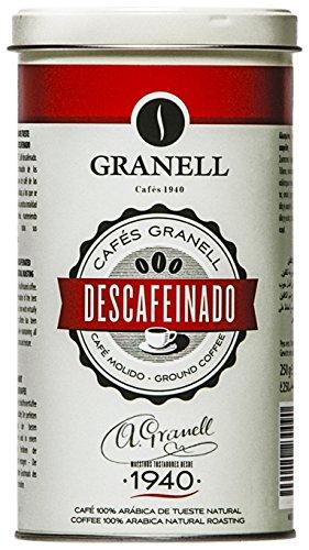 Granell Descafeinado Gourmet Café Molido en Lata - 250 gr