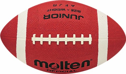 Molten Kinder American AFR Junior Football, Brau, one Size