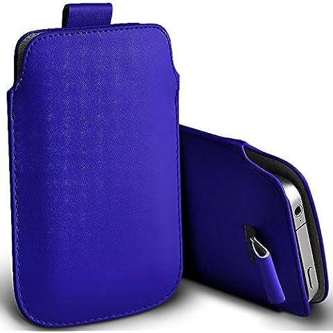 ( Blue ) custodia telefonica Asus Zenfone 3 Max ZC520TL caso alla moda premio, Faux, scheda pull in pelle, cassa della pelle della copertura del sacchetto vari colori tra cui scegliere Asus Zenfone 3 Max ZC520TL case cover by i-Tronixs