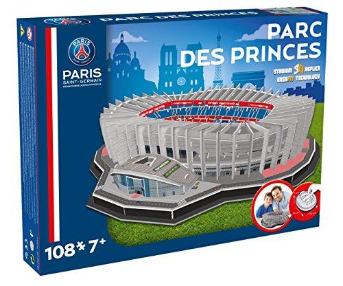 Nanostad - 6700 - Jeu De Construction - Parc Des Princes En 3d