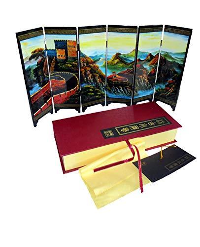 iFireFly Paravent/Raumteiler für den Schreibtisch, 6 Paneele, lackiert, klein - Schlafzimmer Lackiert Schreibtisch