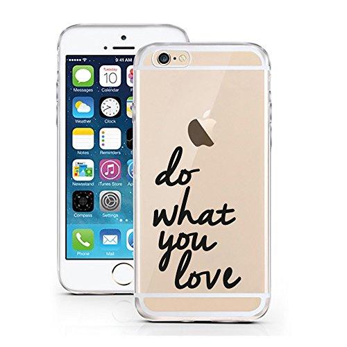 iPhone 6S Hülle von licaso® für das Apple iPhone 6 & 6S aus TPU Silikon Super Hero is my middle Name Super-Held Muster ultra-dünn schützt Dein iPhone & ist stylisch Schutzhülle Bumper Geschenk (iPhone Do What you Love