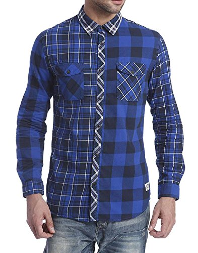 Jack & Jones Men's Casual Shirt (5712832631776_12093795_Small_Navy Blazer)  available at amazon for Rs.1747