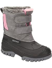 BOWS® -KEKE- Mädchen Kinder Schnee Winter Stiefel Winterboots Schuhe Warmfutter wasserdicht wasserabweisend