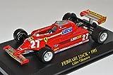 Ixo Ferrari 126CK Gilles Villeneuve Formel 1 Weltmeister 1/43 Modell Auto